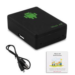 Discount mini gps elderly - Mini A8 Portable GPRS Car Kids GPS GSM GPRS Tracker Tracking System Device Adapter Locator For Car Kids Pet Elderly