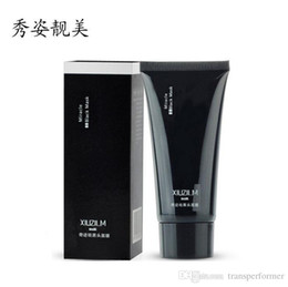 Face Resist Mask Canada - free shipping XIUZILM Black Mask Face Makeup deep cleaning Face Tearing style resist oily skin Treatment makeup