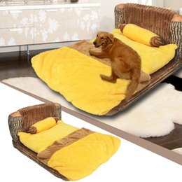 $enCountryForm.capitalKeyWord Australia - 1 Set Of Yellow The Pooh Plush Beds Kennel Luxury Kennel Dog Bed,dog cat mat,warm cats bed,pet beds,camas para mascotas order<$18no track