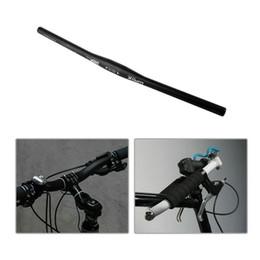 Discount bicycle riser handlebars - Wake Comp Logo 31.8mm * 620mm Aluminium alloy Cycling Riser Flat Handlebar MTB Mountain Road Bike Bicycle Handlebar High