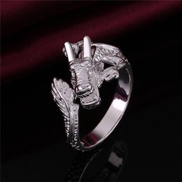 Lead Gifts NZ - best gift Leading women's sterling silver jewelry ring DR054,popular 925 silver finger rings Band Rings