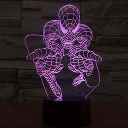 lighted dog ball 2019 - 2017 New Style Spider-man Dog Carrier3D Optical Illusion Light 9 LEDs Acrylic Light Panel DC 5V Factory Wholesale cheap
