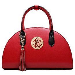 $enCountryForm.capitalKeyWord Canada - Luxury Lady Shoulder Bag Handbags Women Bags Girl Tote Bags Sweet Handbag Fashion Ladies Famous Brand Red Black Solid Cross Hand Bag