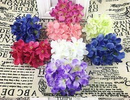 $enCountryForm.capitalKeyWord Canada - 10pcs diy cloth simulation silk flower flower arch decorate wedding props hydrangea wreath Sen female small bouquet Hand