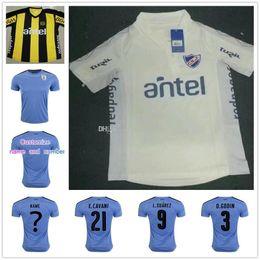 5bc4f7b029c Free shipping 16 17 Uruguay home jerseys 2016 2017 SUAREZ D GODIN shirt and  CAVANI L 2017-18 Camiseta Uruguay Club Atletico Penarol Soccer Jersey  L.SUAREZ ...