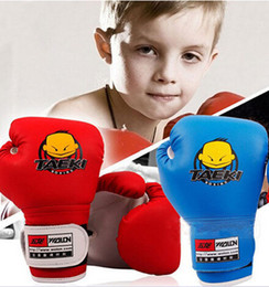 $enCountryForm.capitalKeyWord Canada - 1 Pair Kids Children Kickboxing PU Leather Boxing Training Punching Gloves for Kids with Red and Blue Color Free Shipping