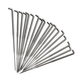 $enCountryForm.capitalKeyWord UK - 18pcs Stainless Steel Needle Felting Tools 50mm Handmade Wool Pin Felt Kits For Sewing Craft Tool