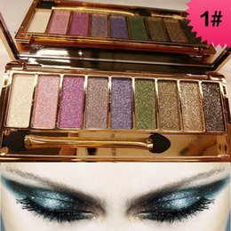 In 8 Colors New Diamond Bright Makeup Eyeshadow Palette Maquillage Eye Shadow Professional Make Up Eyeshadows Cosmetic With Brush Fashionable Style;