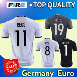 c3f29b488 ... Thai Quality 2016 men German European Cup 11 REUS Home soccer Jerseys 7  SCHWEINSTEIGER 18 KROOS Adidas Muller Germany Away Soccer Jersey Euro ...