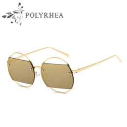 fashion shades for women Canada - 2018 Vintage Round Sunglasses Metal Luxury Women Brand Designer Sun glasses For Women UV400 Lens Shade With Box And Cases