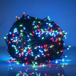 solar powered lamp led string light 300led 400led 500leds 31m 41m 51m lighting garden light outdoor solar panel light for christmas holiday - Christmas Lights Online