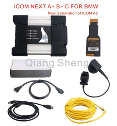 Car Hdd Canada - High quality ICOM NEXT A+B+C 2016 New Generation OF ICOM A2 for BMW Car obd2 diagnostic tool without HDD