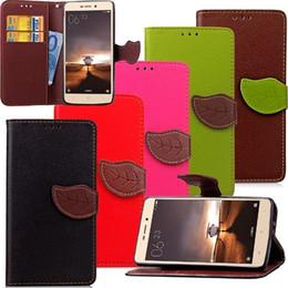 $enCountryForm.capitalKeyWord Canada - Fashion Leaf Litchi Wallet Leather Case For Xiaomi Redmi 2 3 MI2 MI3 NOTE3 Hongmi TPU ID Card Slot Money Stand Pouch Chain Strap skin Cover