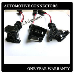 Obd1 Obd2 Connector Canada - OBD2 to OBD1 EV1 fuel injector wiring harness connector plug used for HONDA INTEGRA