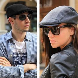 Flat Hats For Women Australia - Summer Sports Beret Caps for men Women Fashion Cotton flat cap Outdoor Hats brand Sun Hat