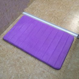 High Quality Bath Mat Memory Foam Door Rugs Carpet For Kitchen Entrance  Doormat