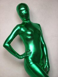 pink full body suits NZ - free shipping green full bodysuit zentai Unisex Lycra Spandex Zentai Body Suit Headless Fancy Dress