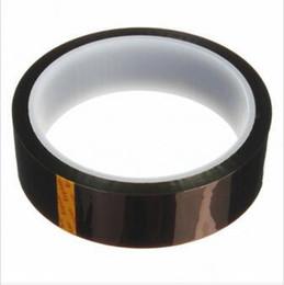 $enCountryForm.capitalKeyWord UK - 25mm x 33m Double-Side Heat Resistant High Temperature Kapton Polyimide Tape for BGA