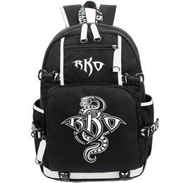 $enCountryForm.capitalKeyWord UK - Rko star backpack Randy Orton day pack Wrestling player school bag Fans packsack Quality rucksack Sport schoolbag Outdoor daypack