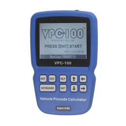 Chinese  New arrival VPC-100 Hand-Held Vehicle PinCode Calculator with 300+200 Tokens Life time free update manufacturers