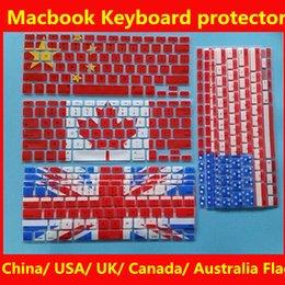 Защитная пленка для экрана Macbook Keyboard для Macbook Air Pro 11 13 15 дюймов США Австралия Канада Китай Uk Флаг-клавиатура