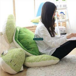 $enCountryForm.capitalKeyWord NZ - Dorimytrader pop cuddly soft anime turtle plush pillow stuffed cartoon tortoise doll animal toys kids Christmas Gift 43inch 110cm DY61848