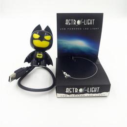 Creative Cartoon Batman Nightlight USB Doll Would Send Boys Birthday Gift