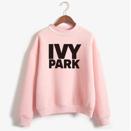 $enCountryForm.capitalKeyWord UK - Wholesale- Beyonce IVY PARK Sweatshirt Winter Women 2017 Womens Sweatshirts Hoodies Long Sleeve Fleece Print Tracksuit Hoodies NSW-20003