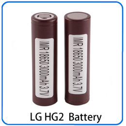 Batteries for lg online shopping - 100 High Quality Battery HG2 mAh A Rechargable Lithium Batteries for LG Cells Fit Ecigs Vaporizer Vape box mod