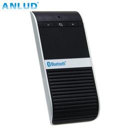 samsung solar mobile 2019 - Wholesale-ALD68 Wireless Bluetooth4.0 Car Kit Handsfree Headset Solar Powered Charger Speaker Headphone for iPhone Samsu