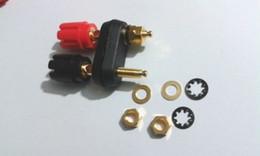 Terminal binding posTs online shopping - 20 gold plated amplifier Terminal Binding Post for mm Banana Plug Jack