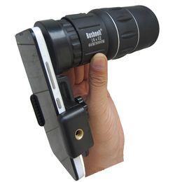Lente da câmera do telefone celular zoom mobile monocular telescópio night vision scope para iphone fisheye adaptador de montagem universal dropshipping atacado