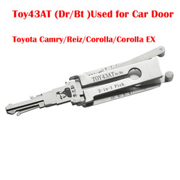 $enCountryForm.capitalKeyWord NZ - Lishi TOY43AT (Dr  Bt) 2-in-1 Auto Pick and Decoder Used to Open the Car Door for Toyota Camry Reiz Corolla Corolla EX Locksmith Tools