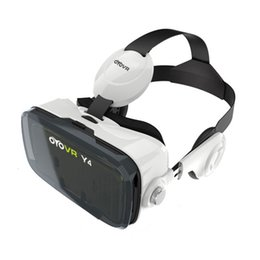 3d Vr Glasses Canada - 2017 OYOVR Y4 (4.0 Version) VR Box 120 FOV 3D VR Virtual Reality 3D Movie Video Game Glass with Headphone for 4.7-6.2 inch Phone