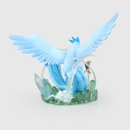 scale pvc action figure model toy UK - Action Figure 1 8 scale painted figure Articuno Scene Doll Garage Kit Toy PVC Action Figures Collectible Model Toys 18cm KT3160