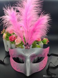 $enCountryForm.capitalKeyWord Australia - Christmas light emitting feather mask dance princess half face mask female children toys wholesale gift show props
