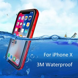 Wholesale iphone 5c waterproof case blue for sale - Group buy Redpepper Waterproof Case For Iphone X S Plus S C Samsung Galaxy Note S6 s7 edge s8 Shock proof cover
