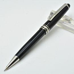Großhandel Luxus Mont Marke Meistersteks 163 MB schwarz Harz mechanischen Bleistift Schule Büro 0.7mm Schreib Nachfüllung Bleistifte als bestes Geschenk