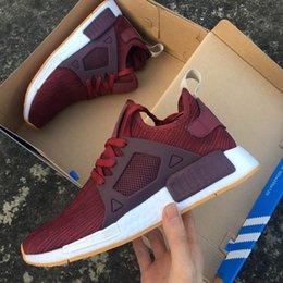 f2b0aca2f Adidas NMD XR1 Primeknit Shoes Triple Black US9.5 NEW Men s