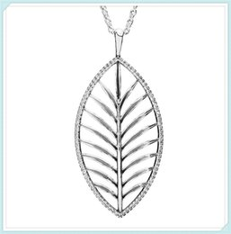 Sterling Tree Pendant NZ - High-quality 925 Sterling Silver Palm Tree Necklace Pendant Necklace with Clear Cz fit European Pandora Style Charm Jewelry and Bead