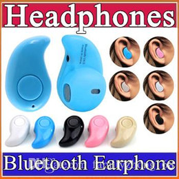 Wireless B Headphones Canada - 10X Gold Sport Running S530 Mini Stealth Wireless Bluetooth 4.0 Earphone Stereo Headphones music Headset Retail Box B-EM