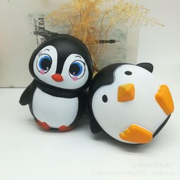 $enCountryForm.capitalKeyWord NZ - New Arrival Jumbo Squishy Cute Penguin Kawaii Animal Slow Rising Sweet Scented Vent Charms Bread Cake Kid Toy Doll Gift Fun b1481