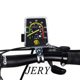 Discount bike chronograph Road bike Mountain bike Speedometer Bicycle Speedometer bike coad speedometer Mechanical Chronograph Stopwatch