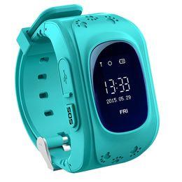 $enCountryForm.capitalKeyWord UK - Wholesale- Q50 Smart Phone Watch Children Kid Wristwatch Q50 GSM GPRS GPS Locator Tracker Anti-Lost Smartwatch Child Guard for iOS Android