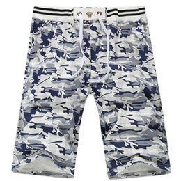 Barato Camuflagem Desgaste Por Atacado-Wholesale-Hot Sale 2016 Beach Wear Surf Homens Shorts camuflar Casual Curto Pant Board Shorts Floral Impresso Bermudas Shorts MQ210