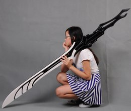 Make Sword Cosplay Canada - Wholesale-free shipping Guilty Crown OUMA SHU TSUTSUGAMI GAI cosplay Sword prop pvc made