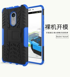 case silicone tire NZ - For Xiaomi Hongmi Redmi Note 4 Huawei Y3 Y5 II Kickstand Hybrid Stand Hard PC + TPU Soft Case Tire Tyre Camo Ballistic Shockproof Skin Cover