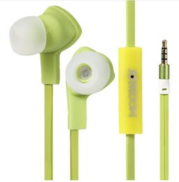 $enCountryForm.capitalKeyWord Canada - New original JOYROOM E102 Earphones 3.5mm Flat Cable In-ear Stereo Earphone with Mic for iPhone Samsung HTC LG smartphone