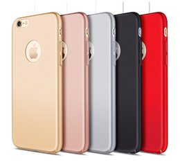 $enCountryForm.capitalKeyWord NZ - Ultra-Thin Phone Case For iPhone 7 6 6s Plus Oil Injection Hard PC Fiber Mobile Phone Case For iPhone7