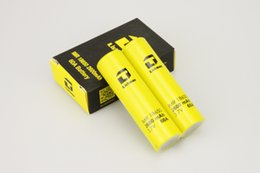 Flashlights Yellow UK - 2PCS Authentic Listman 18650 battery 3.7V 2600mah 60A yellow rechargeable li-lon batteries Flashlight Electronic cigarette power battery